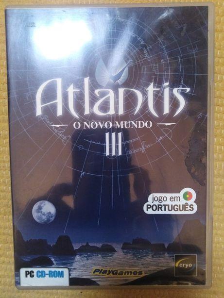 Jogo PC Atlantis  III novo