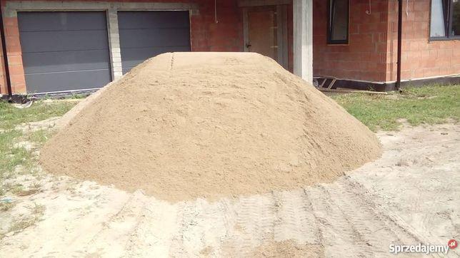 Piasek do murowania żwir zasypywanie fundamentów roboty ziemne