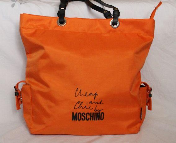 Moschino Torebka pomarańcz