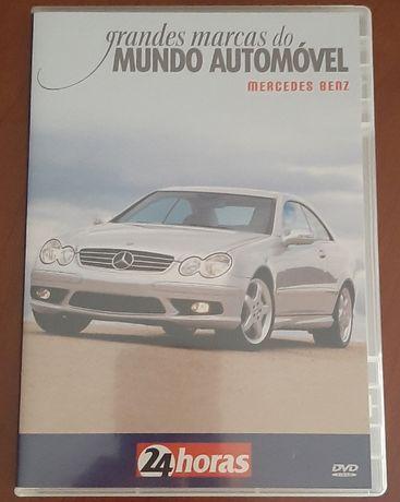 "DVD ""Grandes Marcas do Mundo Automóvel - Mercedes Benz"""