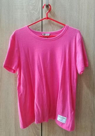 Damska T-shirt koszulka bluzka Calvin Klein krótki rękaw roz S