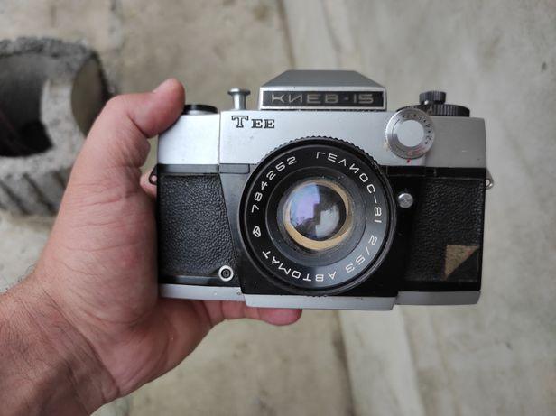 Продам фотоаппарат СССР Киев, объектив Гелиос