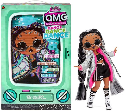 Кукла L.O.L. Surprise OMG Dance B-Gurl - ЛОЛ Сюрприз ОМГ