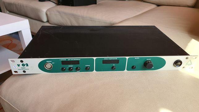 Przedwzmacniacz mikrofonowy, procesor wokalowy Junger v02, STUDIO