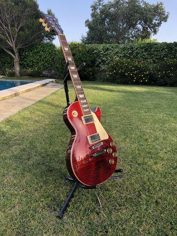 Guitarra Gibson Les Paul Standard 2015 -Wine Red *Guitarra e cor rara*