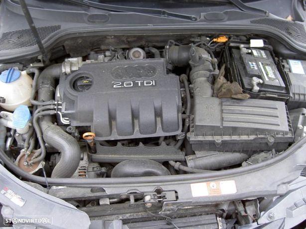 Motor Audi A3 8P 2.0Tdi 170cv BMR BMN Caixa de Velocidades Automatica Arranque + Alternador
