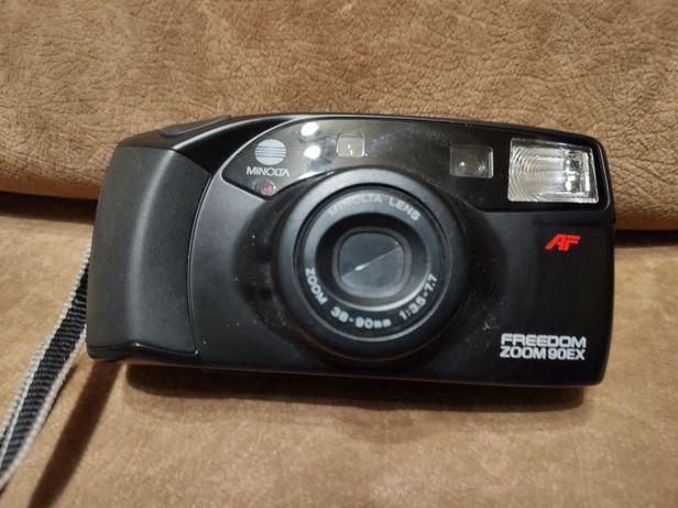 Aparat fotograficzny analogowy Minolta