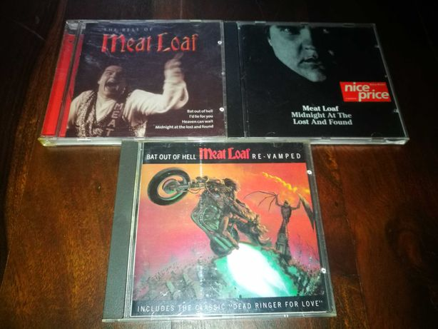Meat Loaf (PACK 3 Cds) -Midnight At The Lost/The very best/Bat Out...