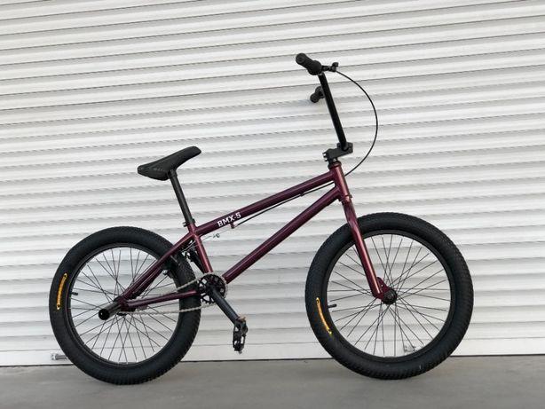 """Велосипед трюковый TopRider BMX-5 20""""для экстрима(модель 2021)"""