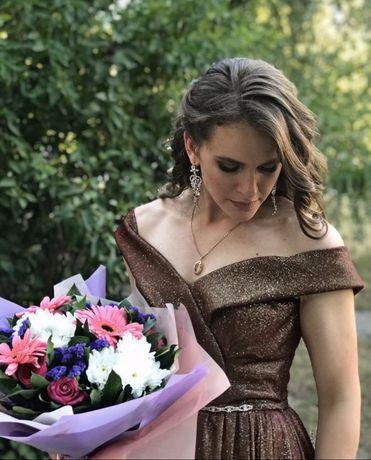 Вечернее / выпускное платье в пол