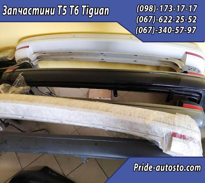 Бампер задний на Т5 | T6 | T5 GP | transporter | Шрот Разборка Львов - изображение 1