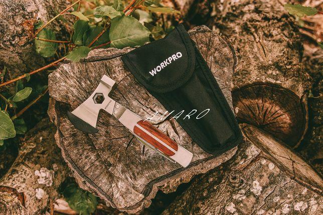Martelo/Machado/Canivete Multifunções Workpro| NOVO