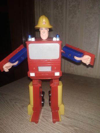 Пожарная машина трансформер Sam