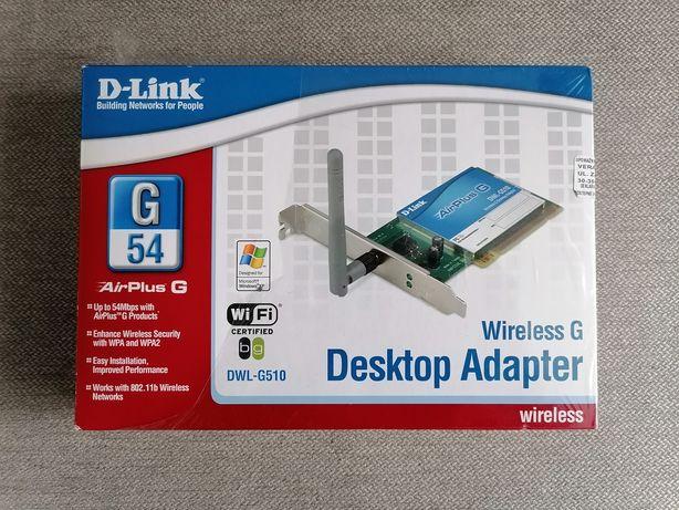 Karta sieciowa D-Link Windows XP nowa w folii (Desktop Adapter)
