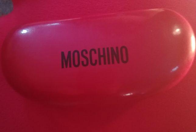 caixa de óculos Moschino original