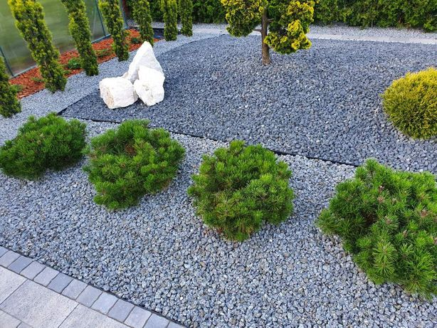 Grys ozdobny kamień naturalny bazalt biała Marianna 3 TONY z dostawą