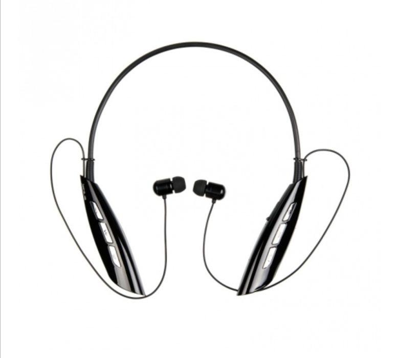 гарнитура вакуумные Bluetooth Jablue HBS-980 черный Дымер - изображение 1