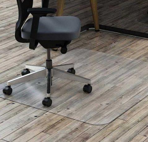Высокопрочная подложка под стулья офисное кресло. Для ламината паркета