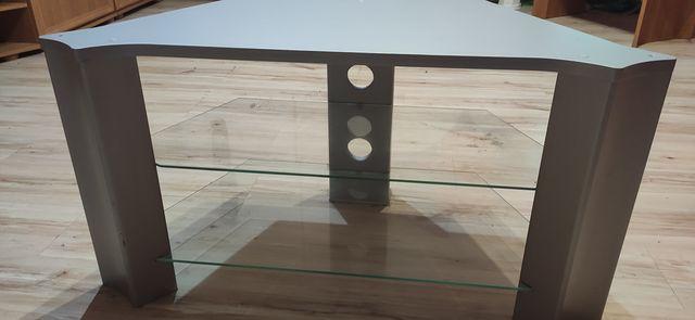 Srebrny stolik RTV