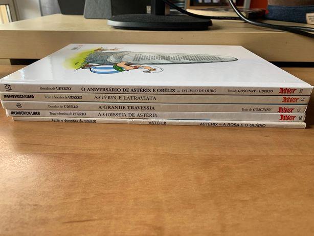 """Coleção de Livros """"Asterix"""""""