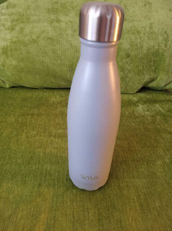Butelka termiczna Wink 500 ml, Grey, Nowa