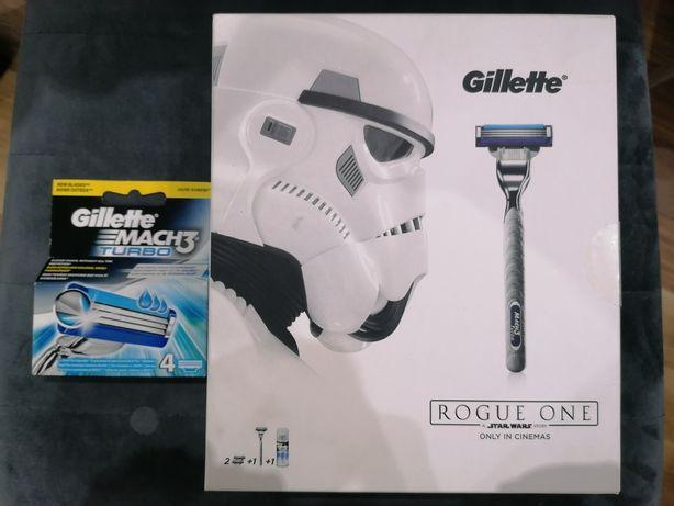 NOWY! DUŻY Zestaw Star Wars Gillette Mach3 Turbo