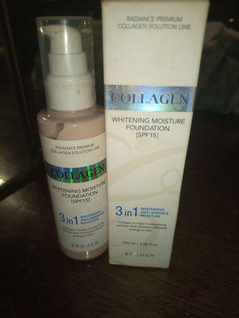 Тональный крем collagen 3in1