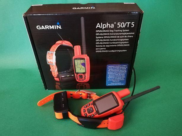 Gps dla psa Garmin Alpha 50 z obrożą T5 do śledzenia psów