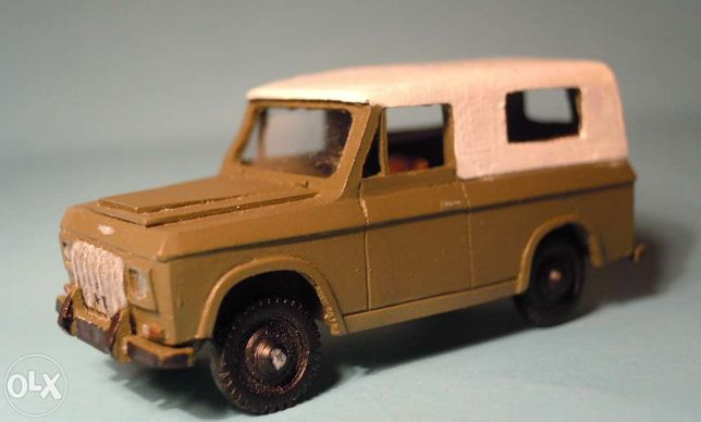 Jipe Portaro 240 4x4 kit de miniatura escala HO - 1:87