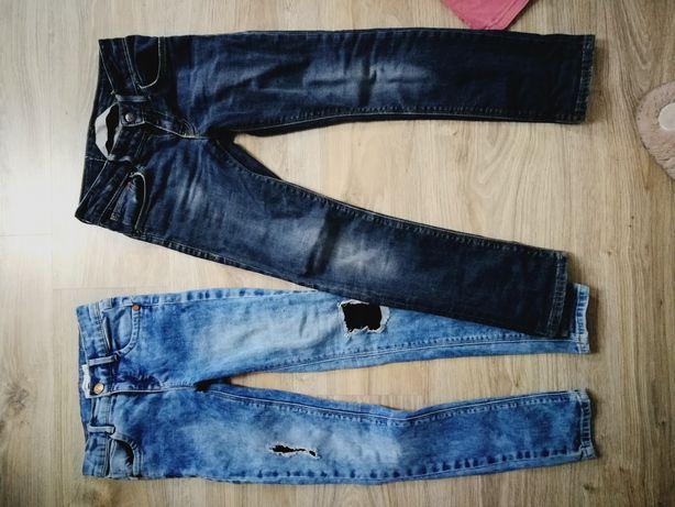 Spodnie 128 7/8lat