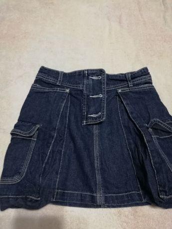 Джинсовая юбка на девочку 7 лет