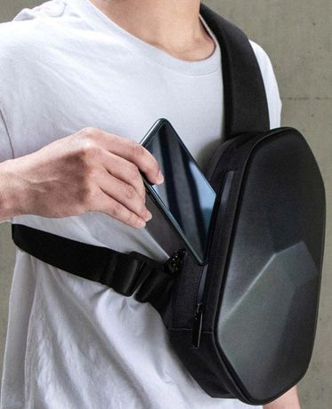 męska torba na klatkę piersiową