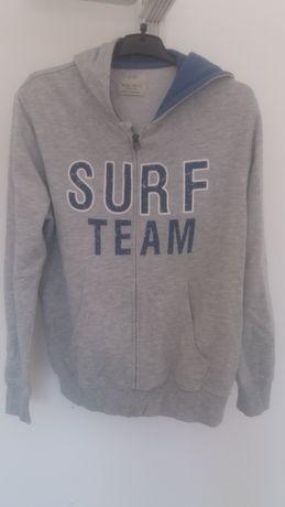 Zara surf casaco c/ capuz boa condição 13-14 anos