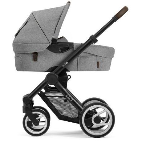 Детская коляска универсальная 2 в 1 Mutsy EVO Farmer Mist / EVO2 Black