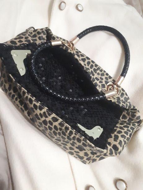Леопардова сумка