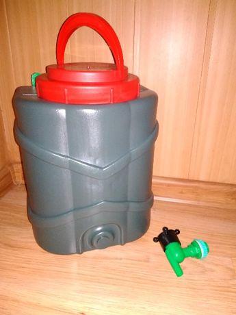 рукомойник для воды садовый или дачный с краном и петлями для подвешив