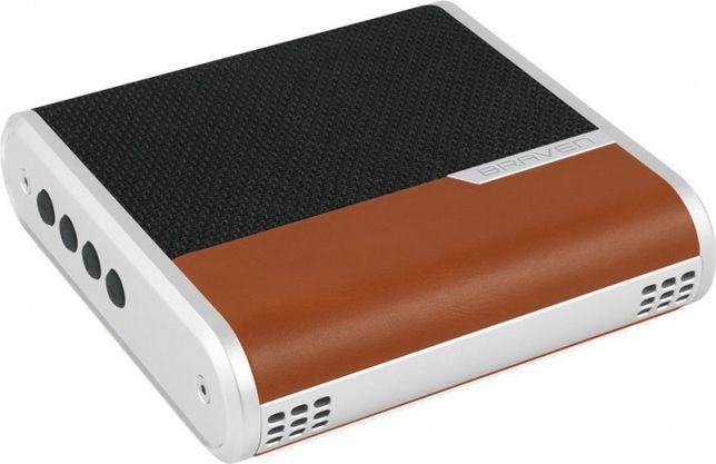 Braven Bridge Speaker (BRGBLNS) Black/Light Brown/Silver
