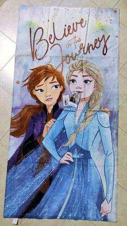 Большое полотенце из серии frozen 2 , полотенце с эльзой  Disney