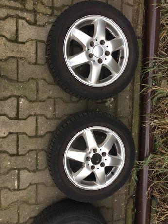 Opony i alufelgi do Mercedesa A170