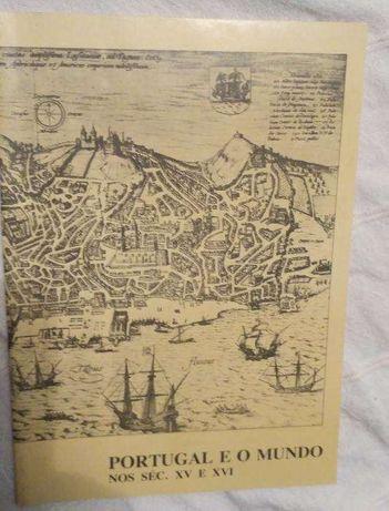 Livro Portugal e o Mundo nos Séc XV e XVI