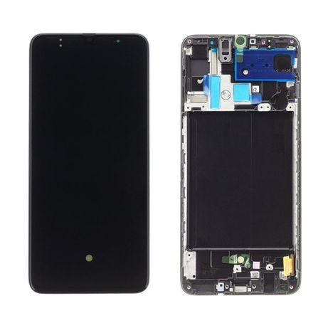 Wyświetlacz ekran Samsung A70 SM-A705F oryginalny montaż