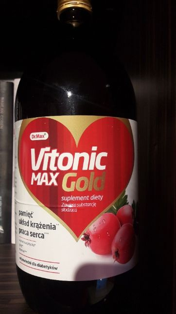 Vitonic Max Gold - pamięć, układ krążenia, praca serca