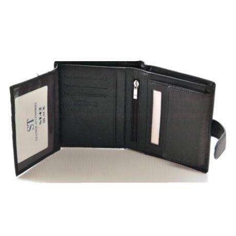 Мужской кожаный кошелек клатч портмоне ST и F