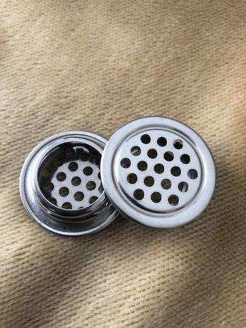 Okrągła kratka wentylacyjna aluminiowa łazienka 35mm