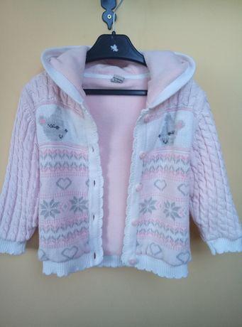Кофта-куртка на флисовой подкладке