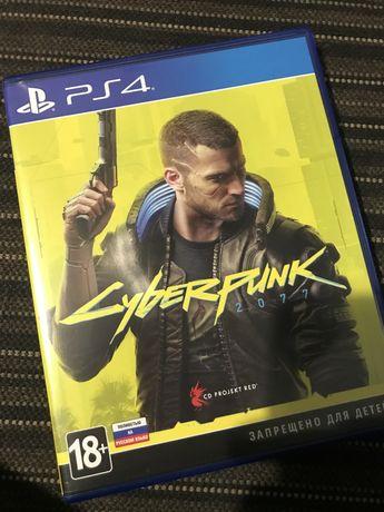 Cyberpunk 2077 для PS4 с обновлением дл PS5