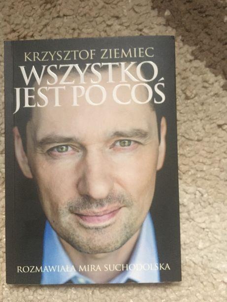 ksiazka Krzysztof Ziemiec -Wszystko jest po cos,nowa.