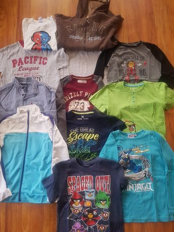 Ubrania dla chłopca-rozm. 134-140 cm