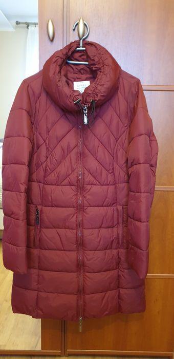 Płaszcz pikowany bordowy zapinany na zamek dwustronny. Siemianowice Śląskie - image 1