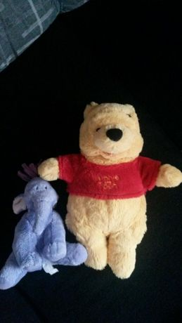 Peluches do Winnie the Pooh